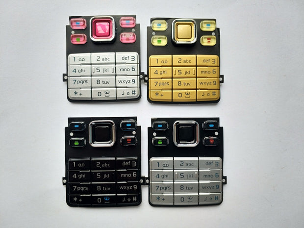 New English Keyboard Buttons For Nokia 6300 Replacement Parts