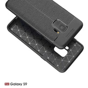 New Leather Stripe Skin Cover Bumper Phone Cover Coque For Samsung Galaxy S9 Case Protect Fundas For Samsung Galaxy S9 Plus Case
