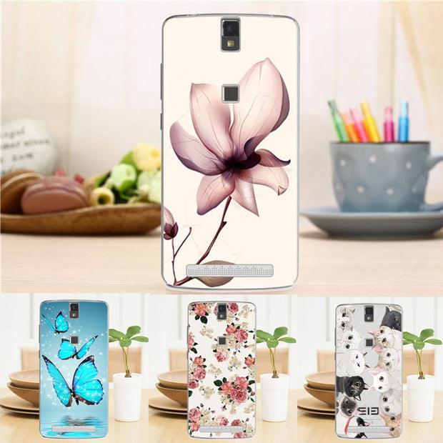 New Soft Coloful Silicon Case For Elephone P8000 5.5 Inch Hot Fashion Cover For Elephone P8000 5.5 Inch Top Quality