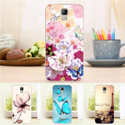 New Soft Silicon TPU Case For Umi Rome X Anti Skid Flower Pattern Full New Phone Cover For Umi Rome X 5.5''