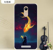 New Soft TPU Painted Phone Case For Condor Allure A8 Cartoon Protector Back Cover For Condor A8 Mobile Phone Bags