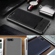 New TPU Soft Case For Huawei Nova 2S,Litchi Texture Non-slip Business Cover For Huawei Nova 2S Case