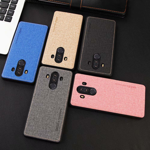 New Linen Phone Case For Huawei Mate 10 All-inclusive Scrub Soft Back Cover For Huawei Mate 10 Pro Phone Shell Coque Mate10 Case