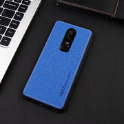 New Linen Phone Case For Oneplus 6 (6.28inch) All-inclusive Scrub Soft Back Cover For Oneplus 1+6 Phone Shell Coque 1+6 Case