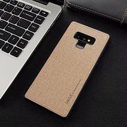 New Linen Phone Case For Samsung Galaxy Note9 All-inclusive Scrub Soft Back Cover For Samsung Note 9 Phone Shell Coque Capa