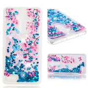 Newest Dynamic Liquid Glitter Quicksand Soft TPU Cases For ZTE Blade MAX XL N956 Z986 Z983 Z981 Back Cover Phone Bag