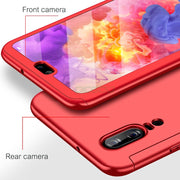 OICGOO 360 Degree Phone Case For Huawei P10 P20 Lite P20 Pro P10 Plus Full Cover Cases For Honor 9 9 Lite 10 Case With Glass