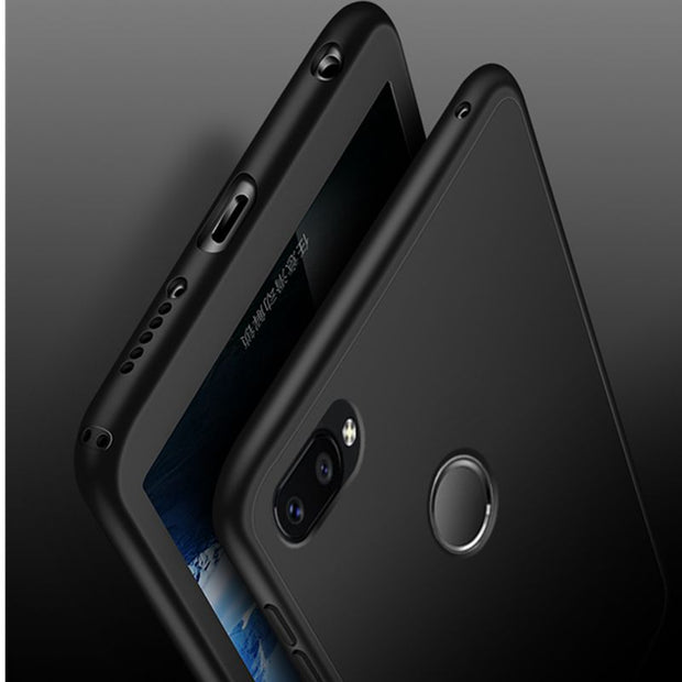 Ollivan 360 Full Cover Armor Case For Xiaomi Redmi Note 5 5A 6 Pro 4 4X 5 Plus S2 Silicone Case For Xiaomi Mi A1 A2 Lite 8 Cases