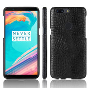 Oneplus 5t Case, OnePlus 5T Phone Bag Luxury 3D Crocodile PU Leather Ultra-thin Hard Back Cover For OnePlus 5T Protective Cases