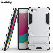 Oppo A33 Case A33M A33W A33T Anti-Knock Robot Phone Stand PE + TPU Cover Case For Oppo A33 Cover For Fundas Oppo Neo 7 Coque