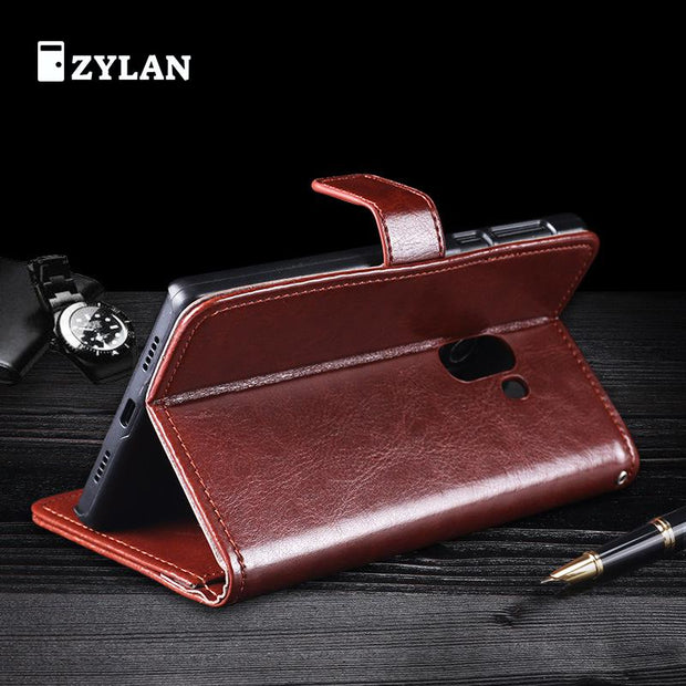 Original ZYLAN For Xiaomi Mi Mix Case Flip Stand Wallet Leather Cover For Xiaomi Mi Mix Cover Card Slots Stand +Stylus+Rope