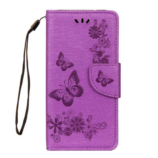 P20 Lite Leather Case On SFor Fundas Huawei P20 Lite Case For Coque Huawei P20 Pro Case Cover Butterfly Flip Wallet Phone Bag