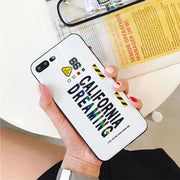 Personality Letter Phone Case For IPhone 6 6S 7 8 Plus Drop-proof Back Covers Funda For IPhone X XR XS MAX For Iphone 6 6S 7 8