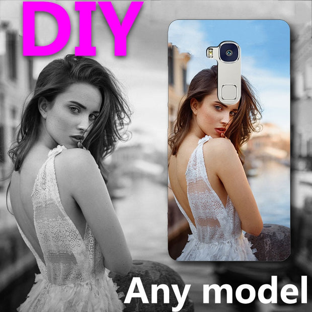 "Personalized Customized Print Photo DIY Customize Image Phone Case For Huawei Honor 5X Play/GR5 5.5"" Phone Back Shells Honor5X"