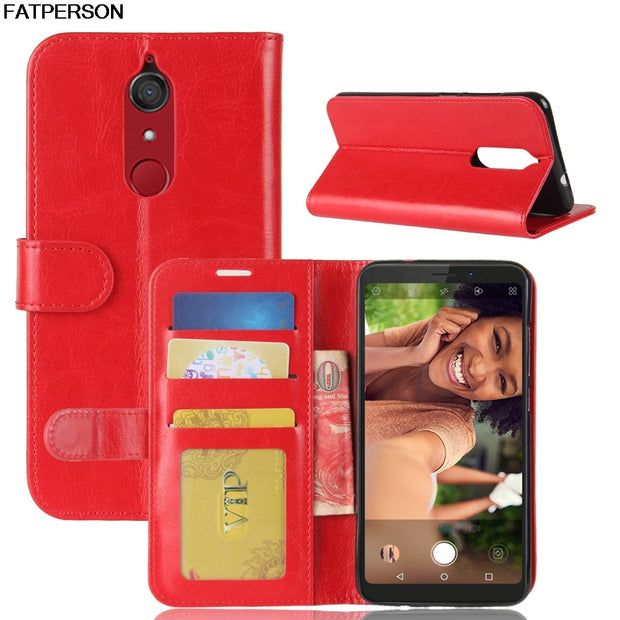 Phone Bracket For Wiko View XL Soft Wallet Leather Phone Case For Wiko View XL Luxury PU Case Multi-function Smart Cover
