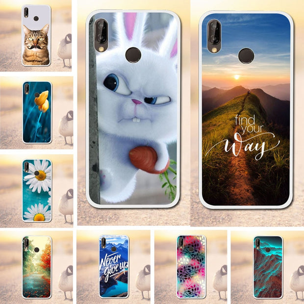Phone Case For Huawei P20 Lite Pro Case Cute Silicone Soft TPU Cover For Huawei P2 Lite P20 Pro Covers Phone Bags Capa