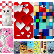 Print Phone Hard Case For LG Optimus L80 Coque Print Back Phone Case Cover For LG Optimus L80 D380 Protector Cover Shell Capa