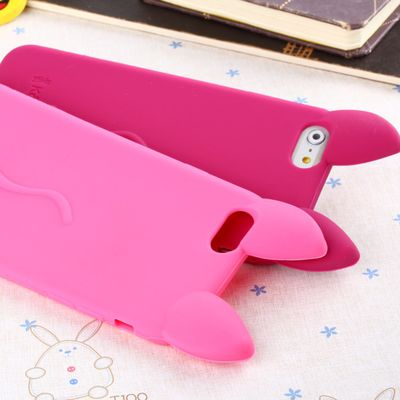 RYKKZ Cute Mobile Phone Case Anti-knock Silica Gel Female Protective Shell For IPhone 6S/iPhone 6Plus Phone Case