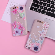 Relief Case For Huawei P10 Lite Case P20 Lite P9 P8 Lite P20 Pro Honor 10 6X 7X 9 Lite Nova 2 Plus 3E Silicone Ultra Thin Cases