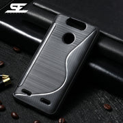 SENSUELL Phone Cases For ZTE Blade V8 Lite Case Silicon Soft TPU Anti-knock Protective Shell Back Housing