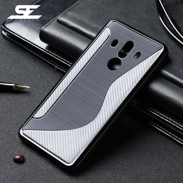 SENSUELL Silicon Case For Huawei Mate 10 Pro Cases Phone Bag Cover BLA-L09 BLA-L29 BLA-AL00 Anti-knock Covers Shell
