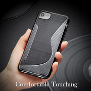SENSUELL Silicon Case For Lenovo K8 Cases Phone Bag Cover For Lenovo K8 Anti-knock Covers Shell Coque Black