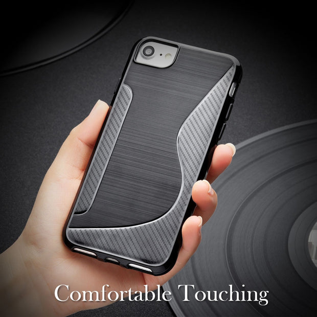 SENSUELL Silicon Case For Samsung Galaxy Note 8 Phone Cover For Samsung Note8 N950F N950FD Anti-knock Covers Shell Coque Black