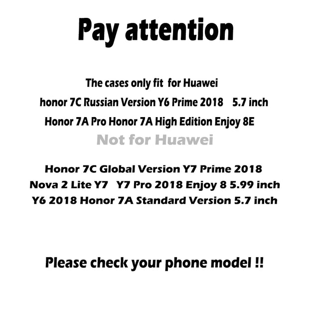 SENSUELL Silicon Soft TPU Case For Huawei Honor 7A Pro Case Ultra Thin SLine Cover Honor 7C RU Version Enjoy 8E Protective Shell