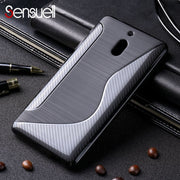 SENSUELL Silicone Phone Cases For Nokia 2.1 Case Anti-knock Ultra Thin Soft TPU Back Cover Nokia 2 2018 Cover Protective Shell