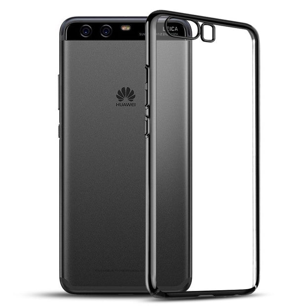 SPCASE Transparent TPU Plating Case For Huawei P20 Lite P20 Pro Mate 10 Pro Mate 10 Lite P10 Plus P10 Lite Cover For Honor V9