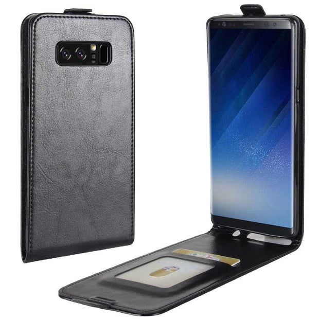 SUBIN Mobile Phone Case For Samsung GALAXY Note 8 N950F Project (6.32'') PU Leather Vertical Flip Phone Accessories Card Cover