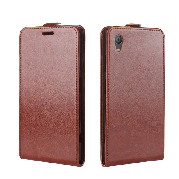 "SUBIN Mobile Phone Case For Sony Xperia XA1 Plus XperiaXa 2 5.5"" Fundas PU Leather Vertical Flip Card BackCover Protective Shell"