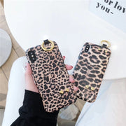 SUPERDOPE Fashion Design Leopard Print Phone Cover For IPhone 6 6s 7 8 Plus X XS XR MAX Colorful TPU Fundas Silicone Case