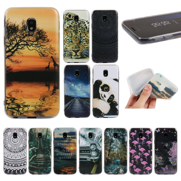 Silicon Gel Case For Samsung Galaxy J7 2017 J730F EU Version Case Mandala Cover For Coque J7 2017 J730 Capinhas Case Rubber Etui
