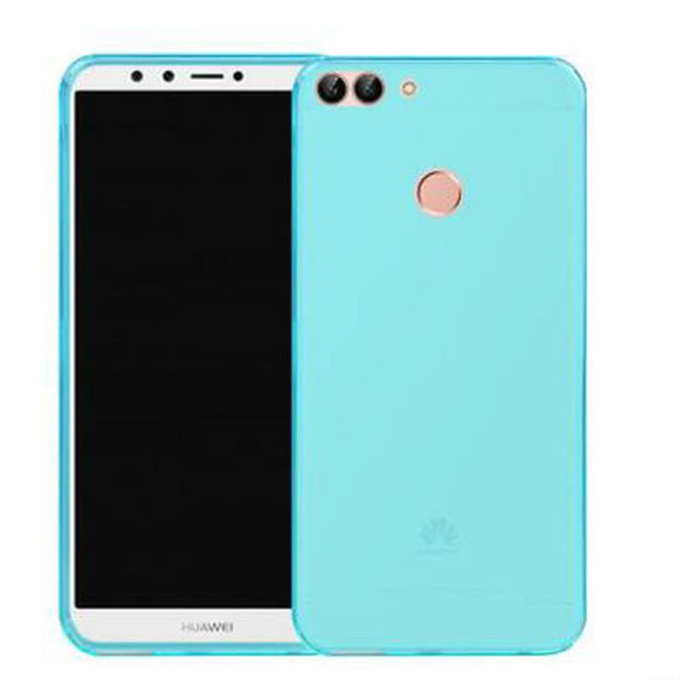 Silicon Phone Case For Fundas Huawei Y9 2018 Case Enjoy 8 Plus Ultra-thin Soft TPU Soft Back Cover For Huawei Y9 2018 FLA-AL00