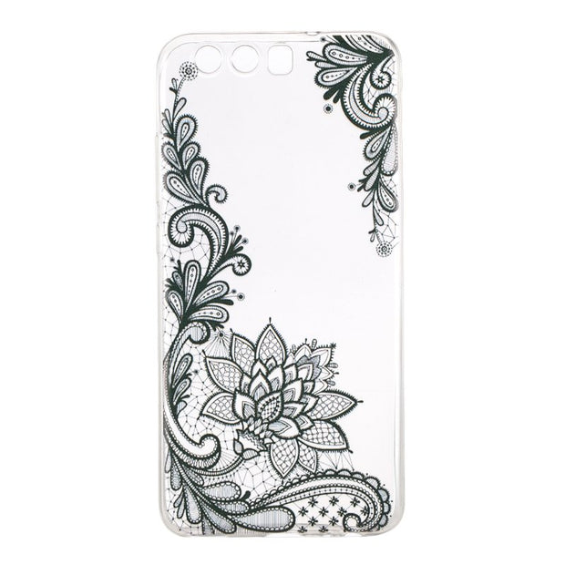 Silicone Back Case For Huawei P10 Cover Soft TPU Unicorn Giraffe Rubber Skin Gel Case For Fundas Huawei P 10 Etui Coque Hoesjes