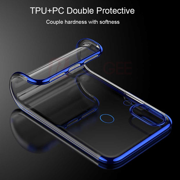 Silicone Case For Huawei P Smart Plus Case Transparent Clear Bumper Protective Back Cover For Huawei P Smart Plus 6.3inch Case