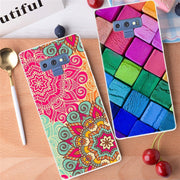 "Silicone Case For Samsung Note 9 Case 6.4"" Cover Cute Print Soft TPU Back For Samsung Galaxy Note 9 Case Cover Cool Capas Note9"