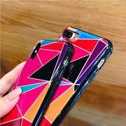 Silicone Color Mobile Phone Case For IPhone 6 6S 7 8 Plus For Iphone 6 7 8 Funda For IPhone X XR XS MAX Drop-proof Back Covers