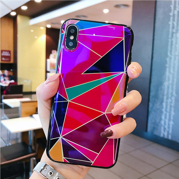 Silicone Color Mobile Phone Case For IPhone 6 6S 7 8 Plus For Iphone 6 7 8 Drop-proof Back Covers Funda For IPhone X XR XS MAX