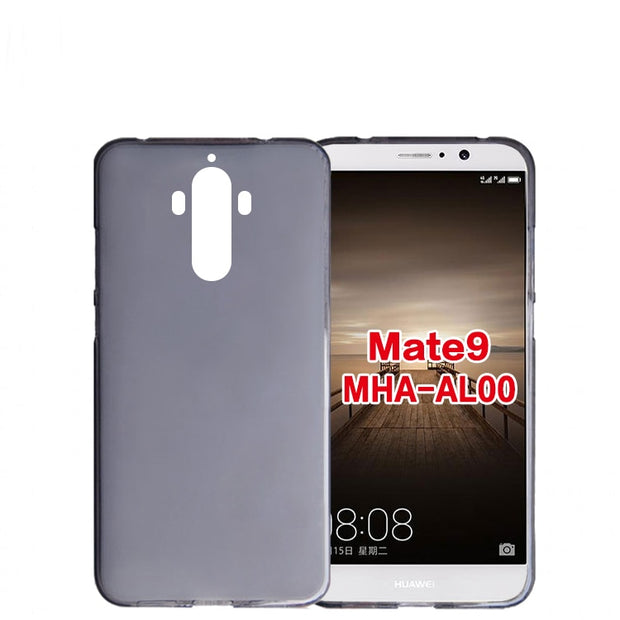 Soft Silicon Cover For Huawei Mate 9 Anti Skid Back Case For Huawei Mate9 Phone Case Huawei Mate 9 Pro Cases