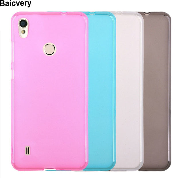 Soft Silicon Phone Case For ZTE Blade A4 Colorful Protective Back Cover Case For ZTE Blade A4 A 4
