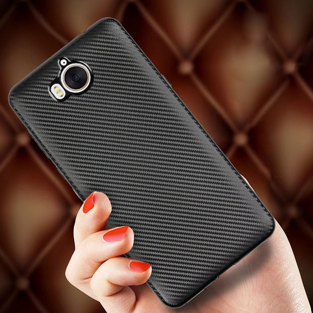Soft Silicone Case For Huawei Y5 2017 III MYA-L22 MYA-U29