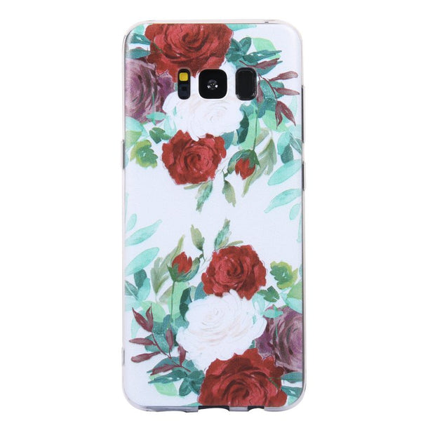 Soft TPU Cases For Samsung Galaxy S8 Cover Silicone Gel For Coque Samsung Galaxy S8 Plus Phone Case Cover Drawing Etui Capinhas