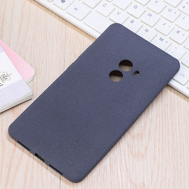 "Soft TPU Froste Cases For Xiaomi Mi Mix Phone Case Silicone Luxury Plush Texture Case For Xiaomi Mix 6.4"" Back Cover Coque"