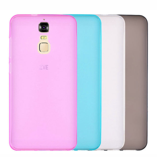 "Soft TPU Gel Cover Case For Zte Blade A610 Plus Anti Skid Hot Cover For Blade A610 Plus A610+ 5.5"" Top Quality"