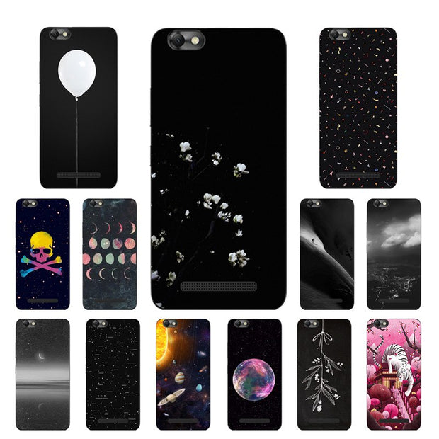 Soft TPU Silicone For Lenovo Vibe C A2020 A2020a40 DS A 2020 Case For  Lenovo Vibe C Case Const Printing For Lenovo A2020