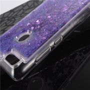 Soft TPU Case For Huawei Honor 7X Phone Case Dynamic Liquid Glitter Sand For Huawei Honor 7X Silicone Cover