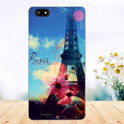 Soft Tpu Phone Case For Fly FS527 Nimbus 17 Cases Silicone Painted Wolf Rose Cat Fundas Sheer For Fly Fs527 Back Cover