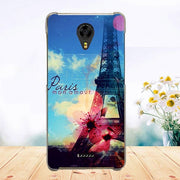 Soft Tpu Phone Case For Fly FS528 Memory Plus Cases Silicone Painted Wolf Rose Cat Fundas Sheer For Fly Fs528 Back Cover